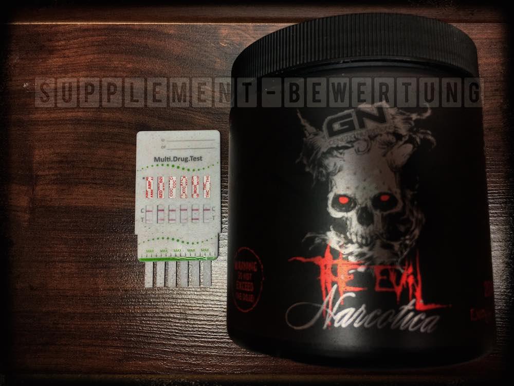 Narcotica The Evil Drogentest Negativ - Narcotica the Evil Test - Alle Fakten zum Booster von GN Laboratories