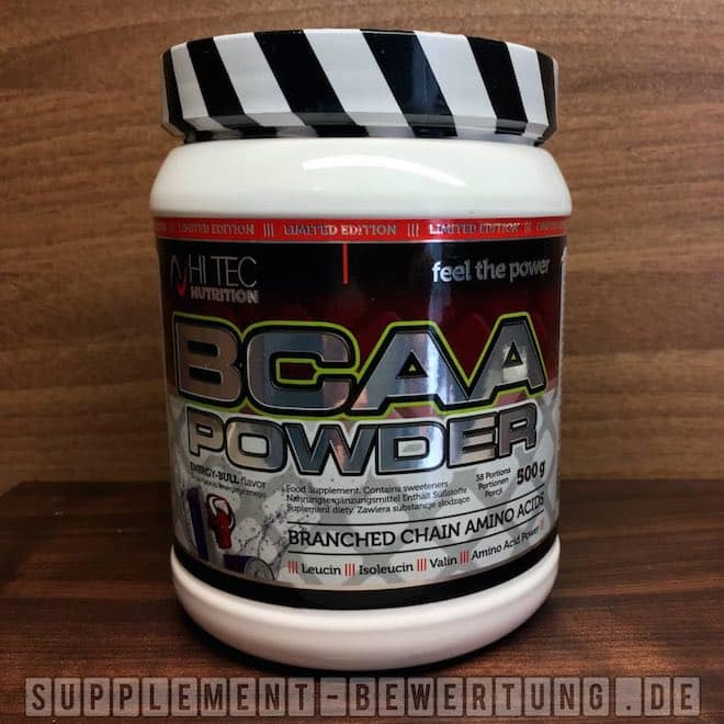 BCAA Powder Hi Tec Nutrition 1 - BCAA Powder - Hi Tec Nutrition im Test