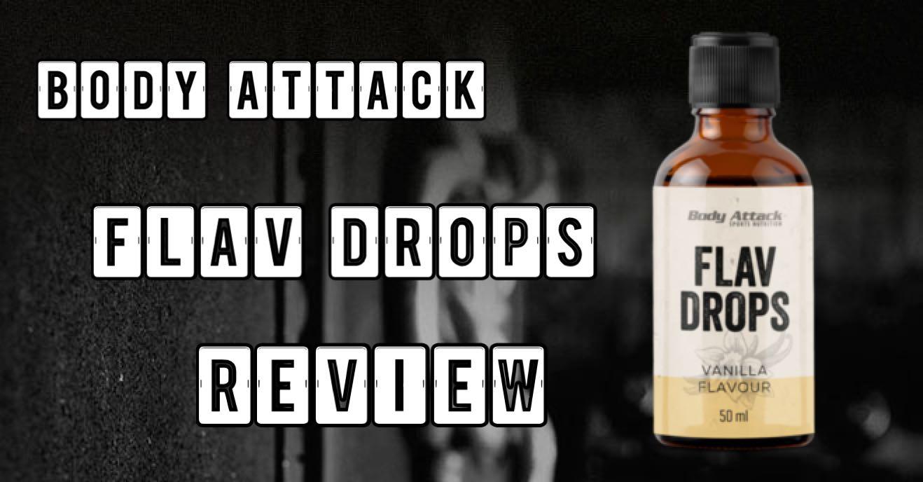 body attack flavdrops das aromasystem im test. Black Bedroom Furniture Sets. Home Design Ideas