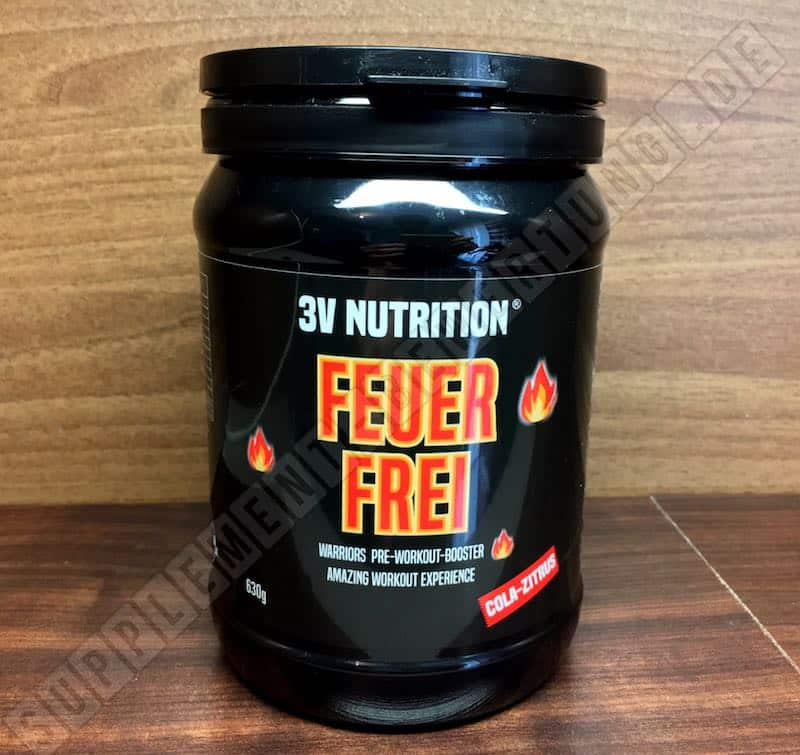 FEUER FREI Booster Verpackung