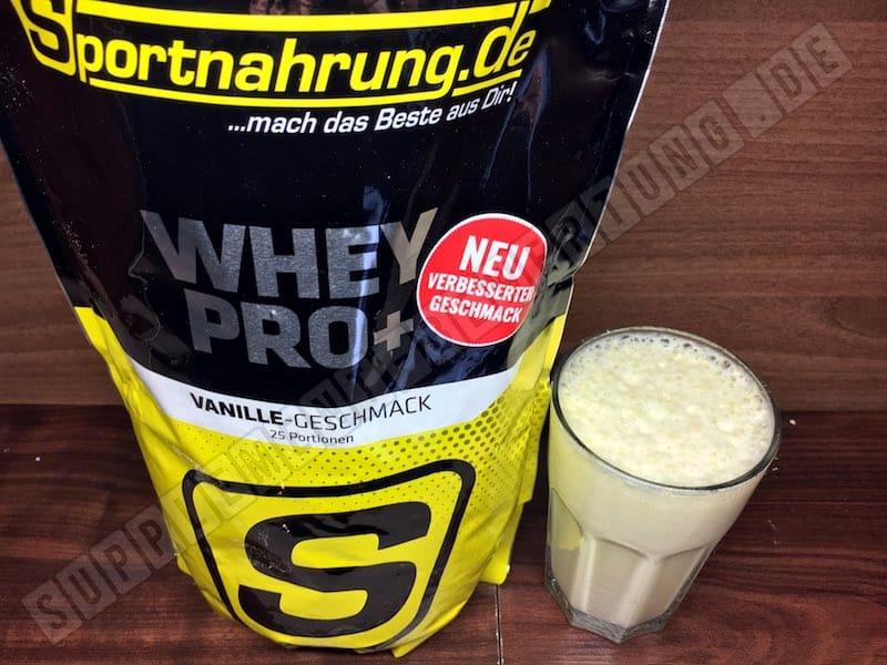 Sportnahrung.de WHEY PRO Review - Sportnahrung.de WHEY PRO+ Unsere Erfahrungen und Test zum Protein