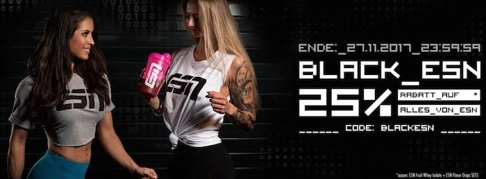 Black ESN - Black Supplements 2017 - Die besten Schnäppchen des Jahres!