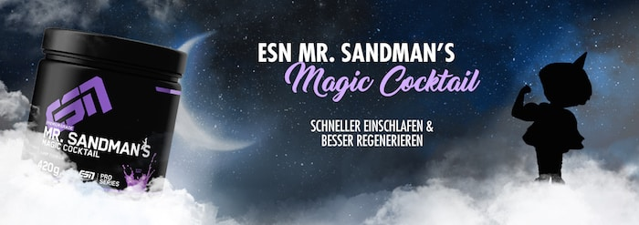 Mr. Sandmans Magic Cocktail - ESN Mr. Sandmans Magic Cocktail - Das Schlafsupplement mit Melatonin