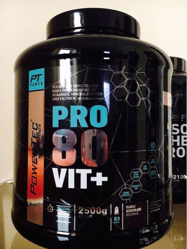PowerTec Pro80 Vit+Test