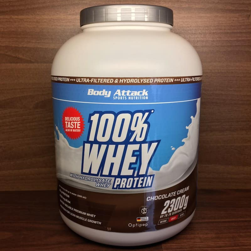 Body Attack 100% Whey Protein