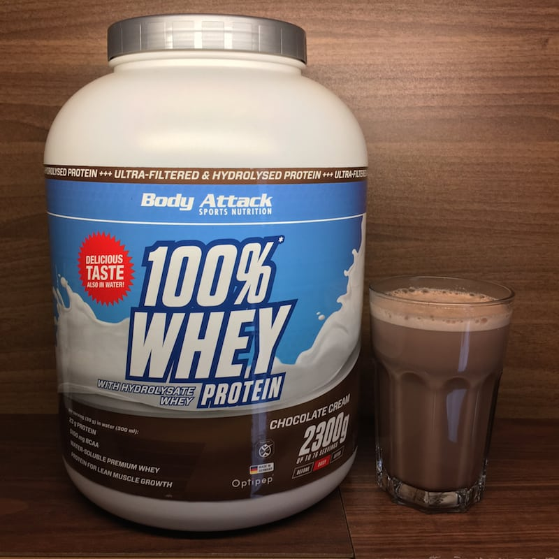 Body Attack Whey Protein Test
