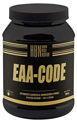 HBN EAA CODE - EAA Test - Essentielle Aminosäuren im Test - alles was du wissen musst!