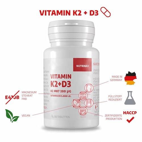 Nutrinax K2 D3