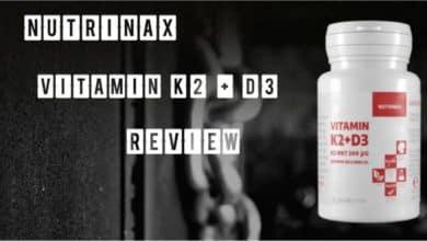 Nutrinax Vitamin K2 + D3 Test