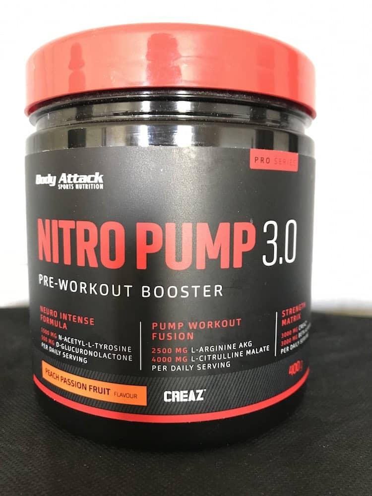 Ansprechendes Design beim neuen Nitro Pump von Body Attack