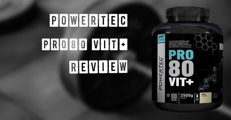 PowerTec Pro80 Vit+