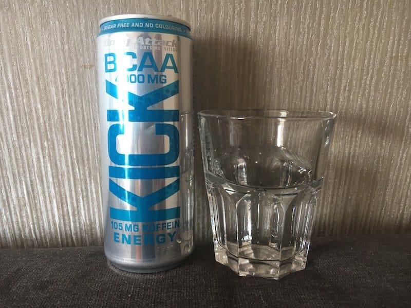 Der BCAA KICK Energy Geschmack