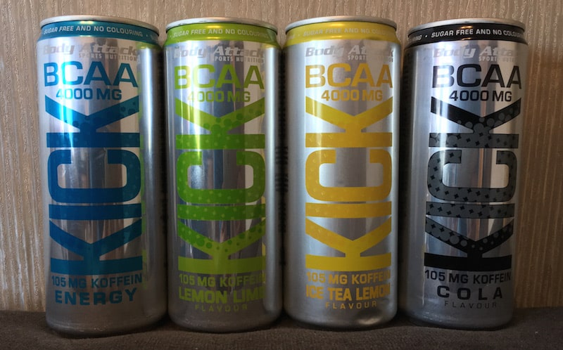 BCAA KICK - Body Attack BCAA KICK - Der leckerste BCAA Energy Drink auf dem Markt?