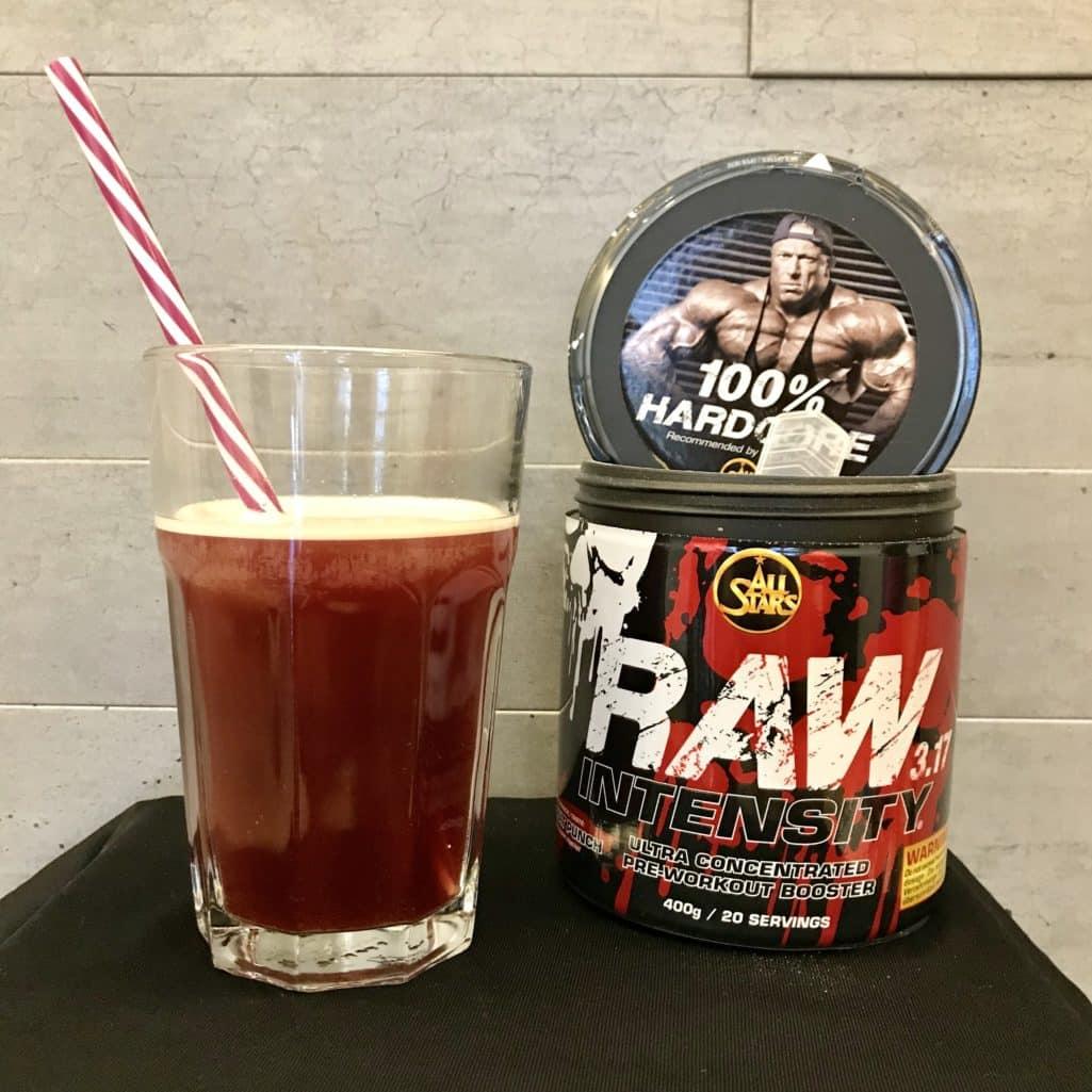 Die Löslichkeit beim Raw Intensity 3.17 ist optimal und der Geschmack außergewöhnlich gut