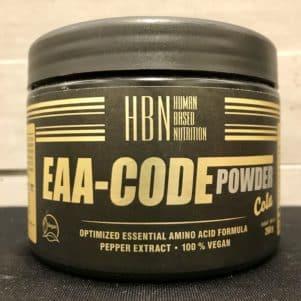 HBN EAA Code Pulver im Geschmack Cola