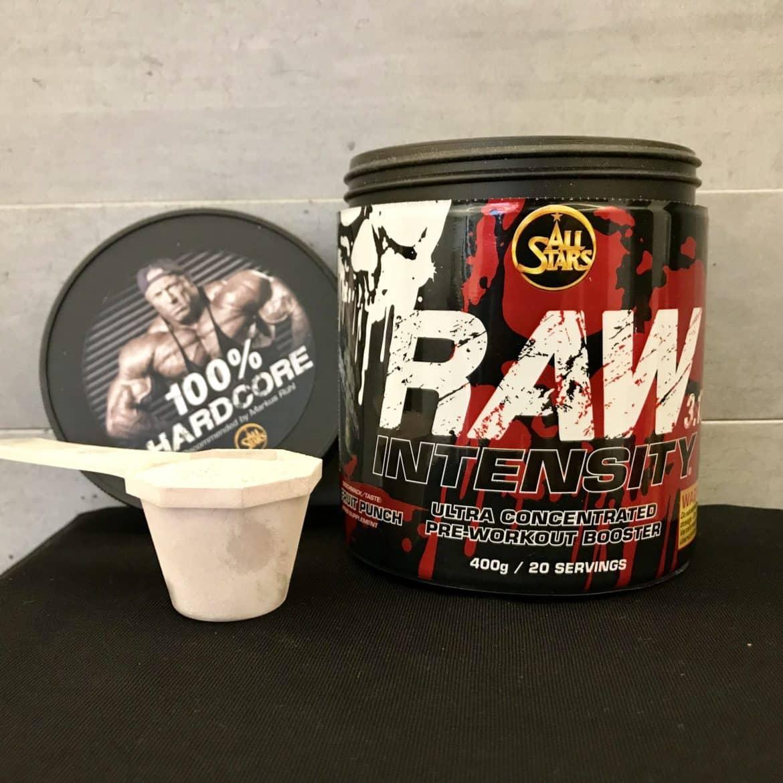 Allstars Raw Intensity 3.17 Test raw intensity 3.17 test - erfahrungen mit dem booster von