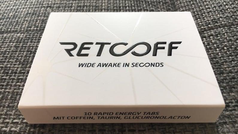 Die Verpackung der Retcoff Tabletten