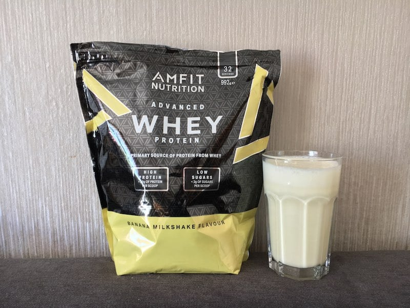 Advanced Whey  Banana Milkshake