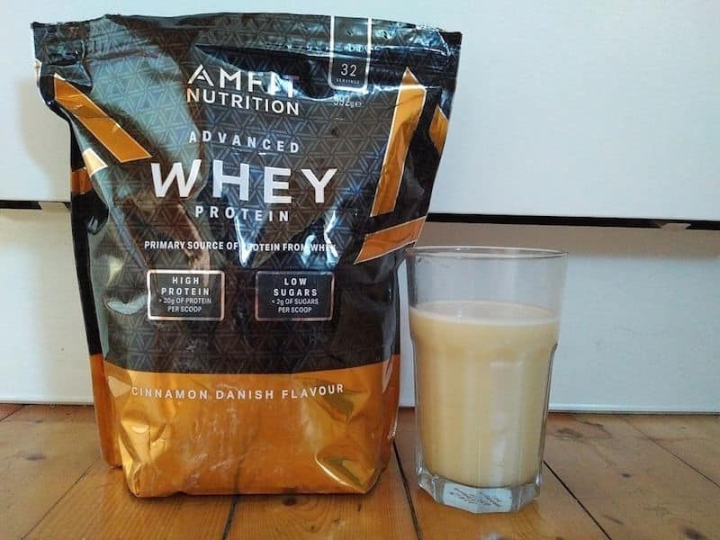 Amfit Nutrition Advanced Whey Protein Geschmack