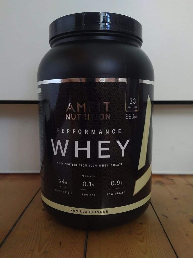 Amfit Performance Whey Protein Dose