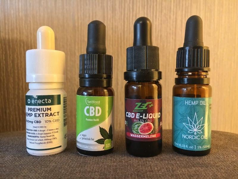 Cannabis Öle