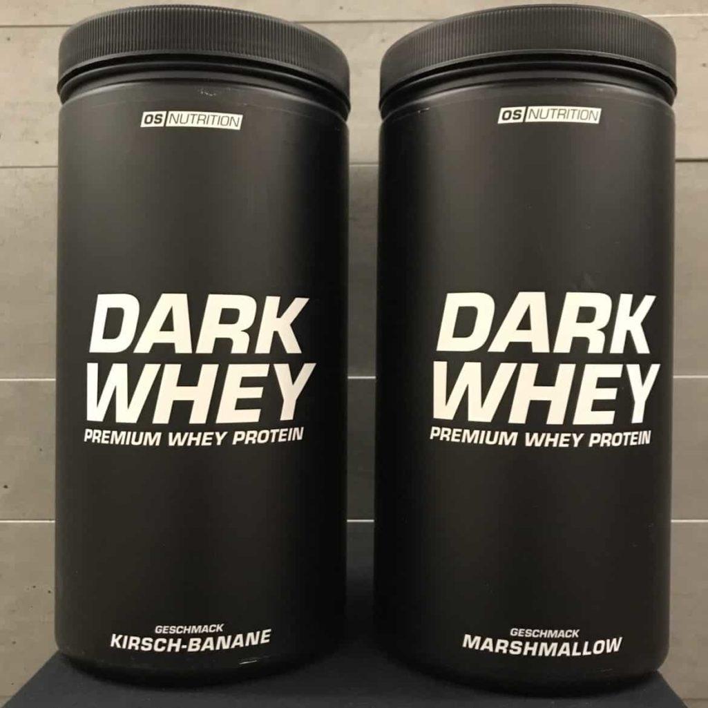 Geschmacksrichtungen Dark Whey von OS Nutrition