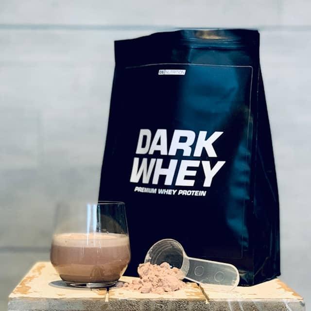 Geschmack Dark Whey Schoko