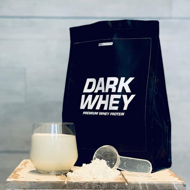 Geschmack Vanille Dark Whey
