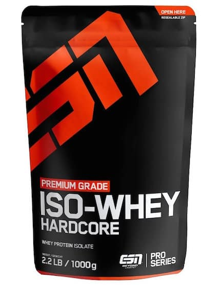 ESN Iso Whey  Hardcore Test