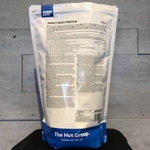 Die Impact Whey Protein Inhaltsstoffe