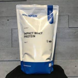 Die Impact Whey Protein Verpackung