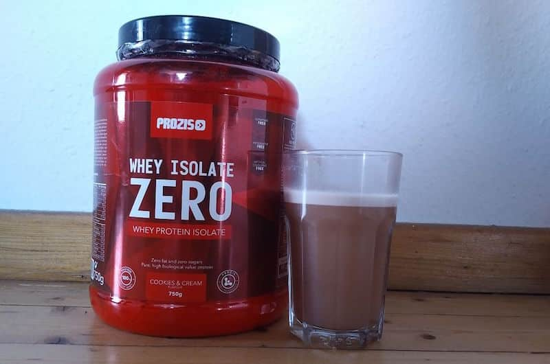 Prozis Zero Whey Isolate Test