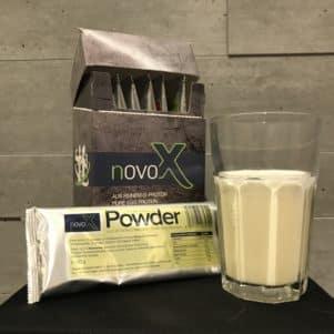 NOVO-X Powder Vanille im Test des Geschmacks