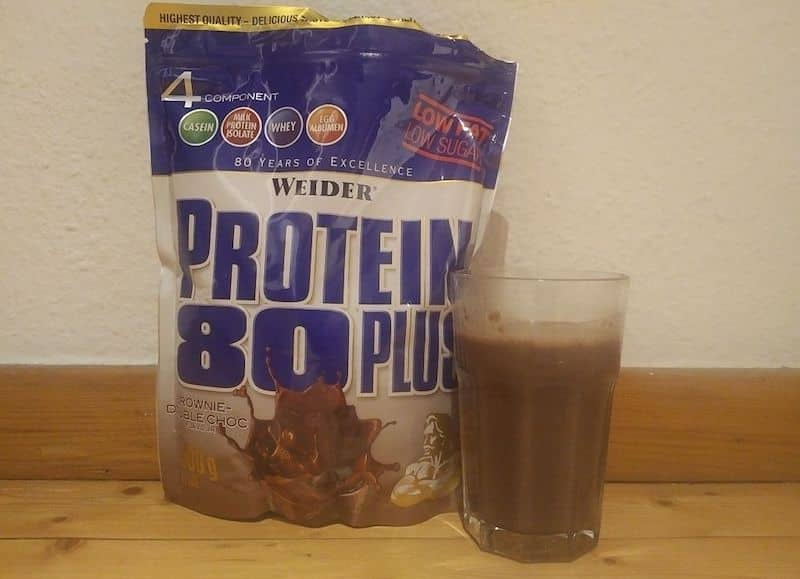 Weider Protein 80 Plus Geschmack