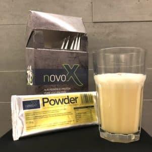 NOVO-X Eiklar Proteinpulver mit frischem Lemon Geschmack