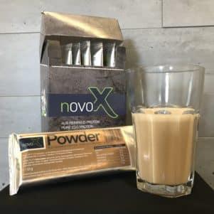 NOVO-X Powder in Iced Coffee für alle Kaffeeliebhaber
