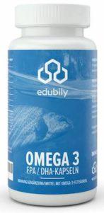 edubily omega 3 kapseln für Muskelaufbau