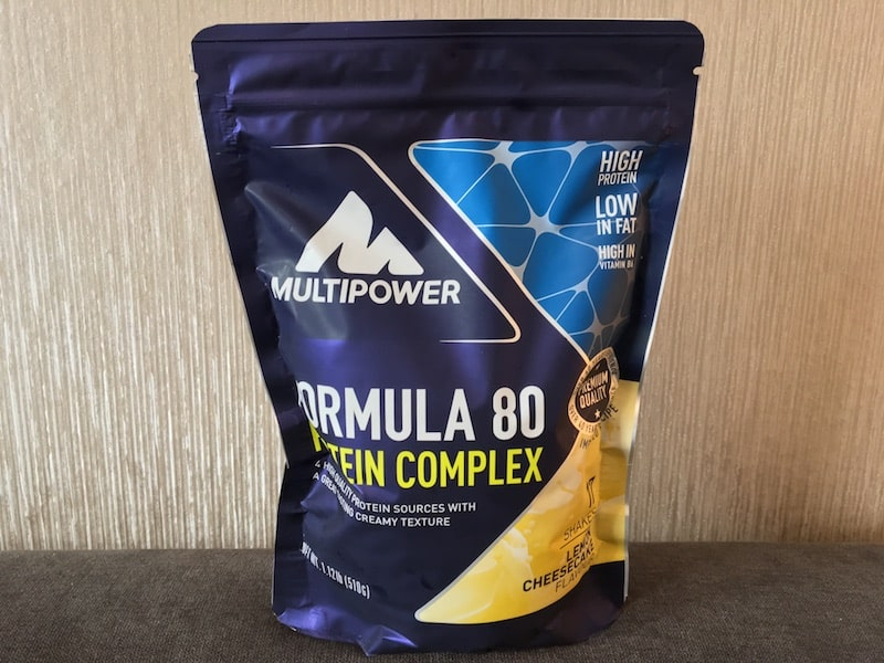FORMULA 80 PROTEIN Lemon Cheesecake