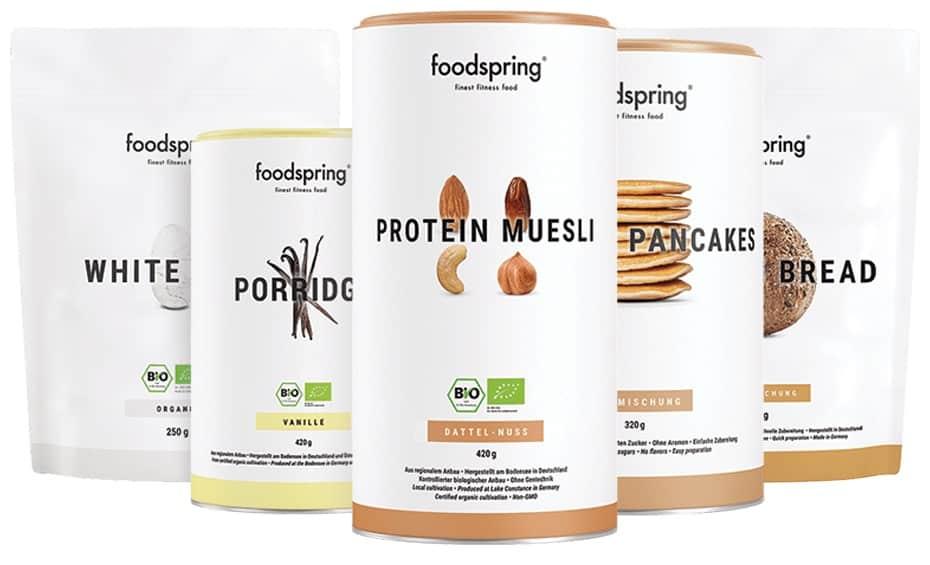 Foodspring Produkte