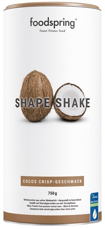Foodspring Shape Shake Erfahrungen