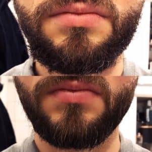 Meine Erfahrung mit dem ZEC+ Bartbalm, der vorher - nachher Vergleichjpg