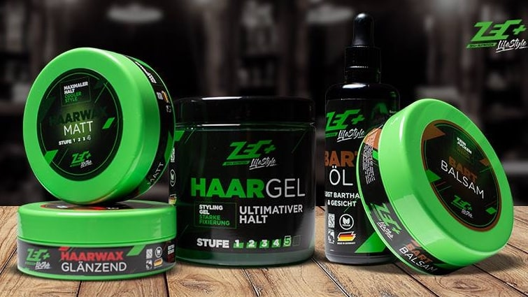 ZEC+ Lifestyle Haarwax, Haargel, Bartbalm, Bartöl