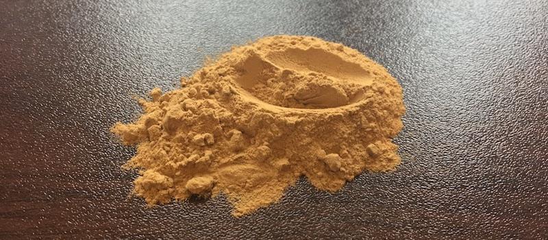 Bentonit-Pulver Test
