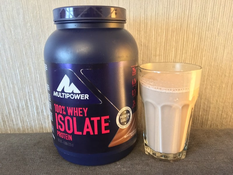 Multipower Whey Isolate Geschmack