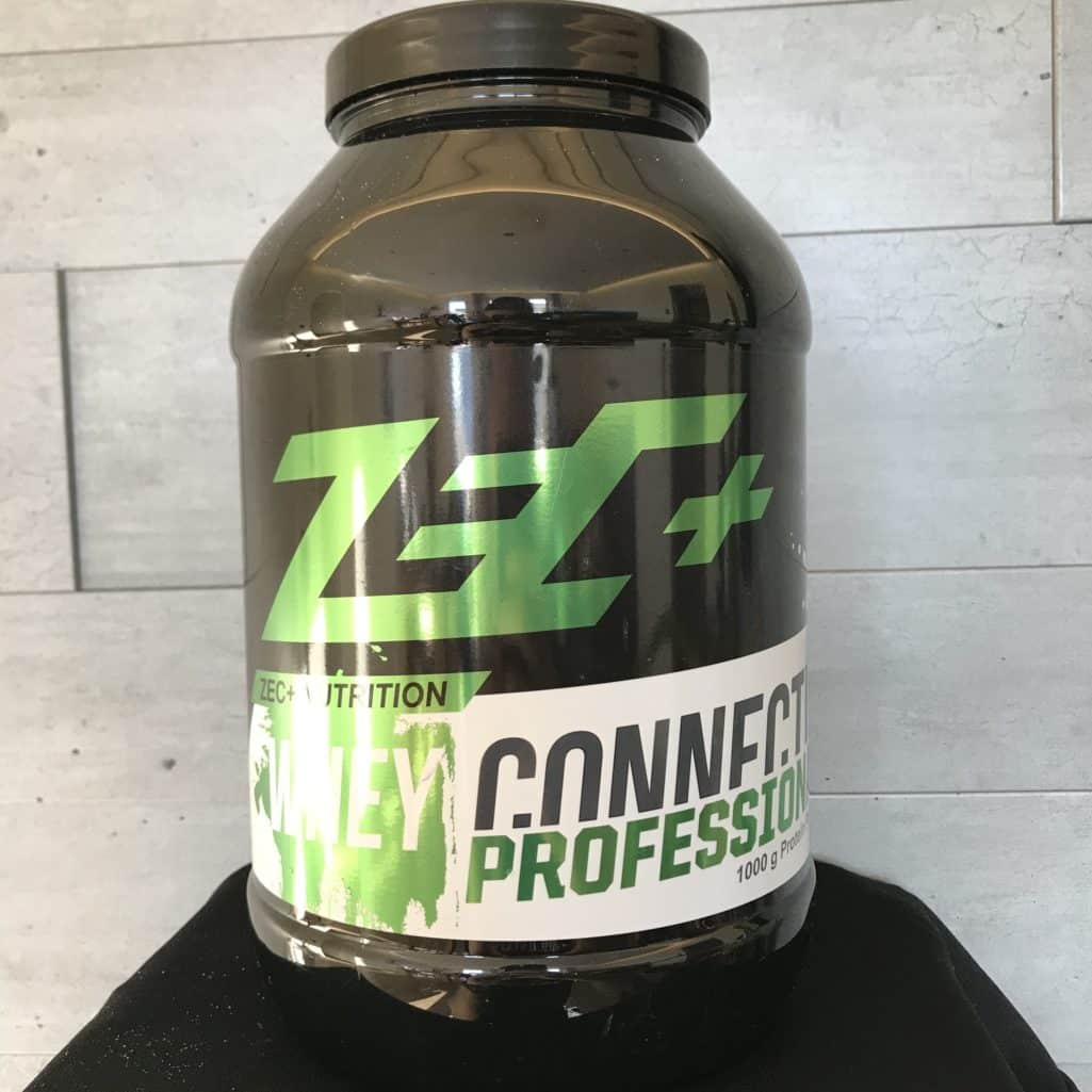 Das ZECplus Whey Connection in der neuen metallic Optik