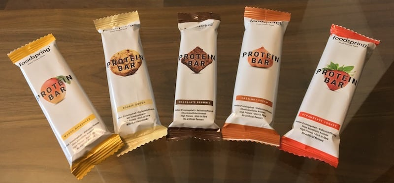 Foodspring-Protein-Bar-Test