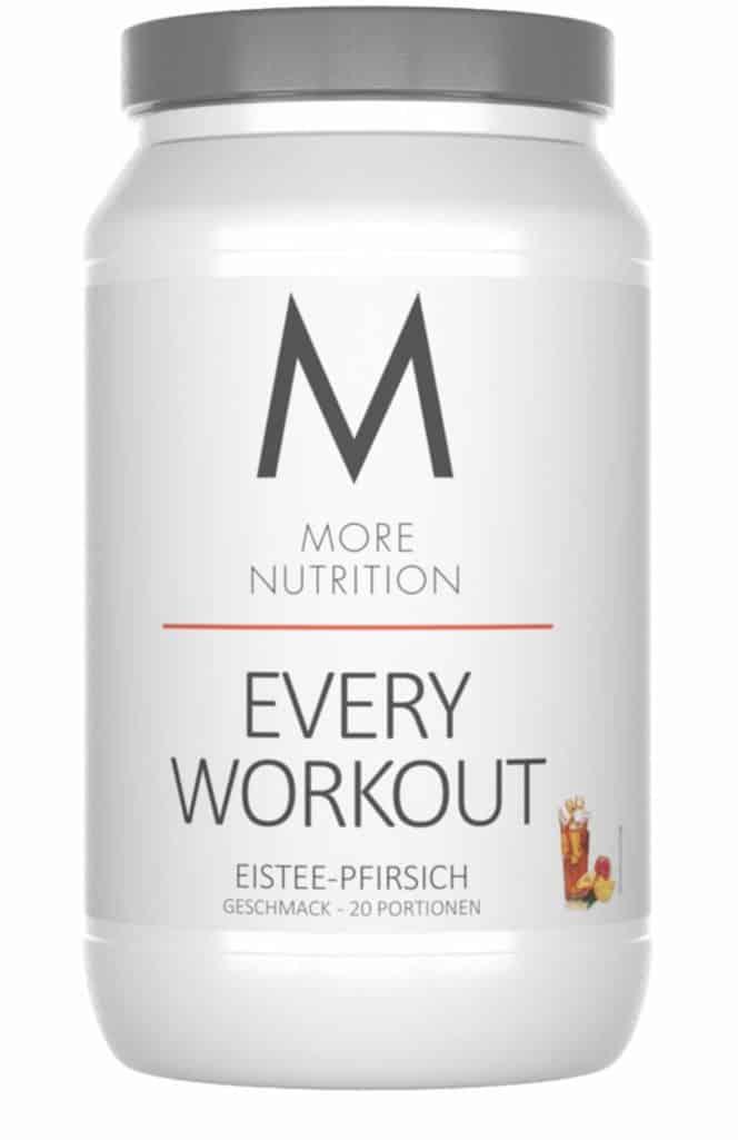 Unser 8 Wochen Dauer Test des Every Workout von More Nutrition