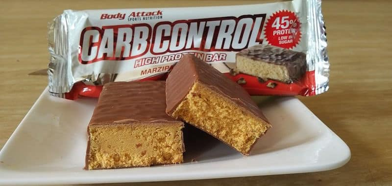 Body Attack Carb Control High Protein Bar