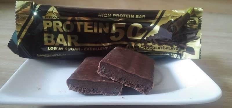 Peak Protein Bar 50 Test