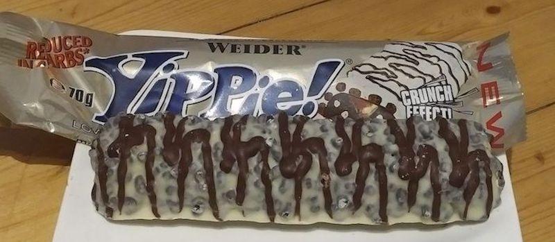 Weider YIPPIE Proteinriegel Test